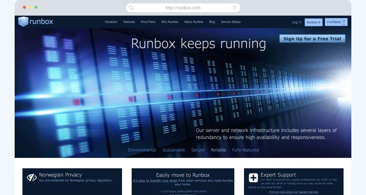 Gmail alternatives Runbox