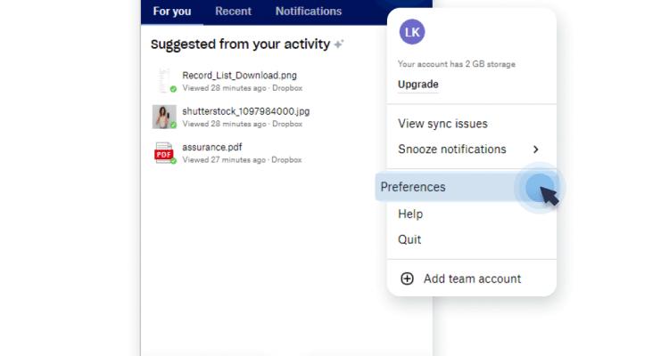 Unsync your Dropbox folders
